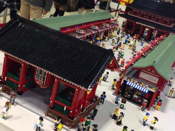 浅草寺のレゴ