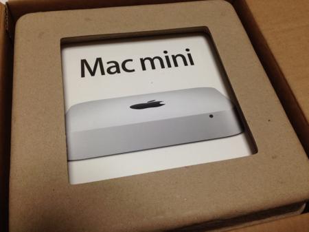 Mac mini開封