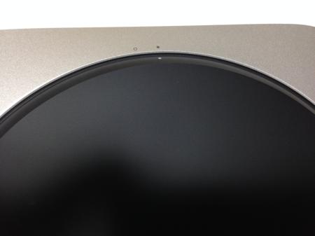 Mac mini蓋の開け方