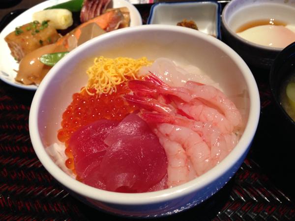 ラビスタ函館ベイの海鮮丼
